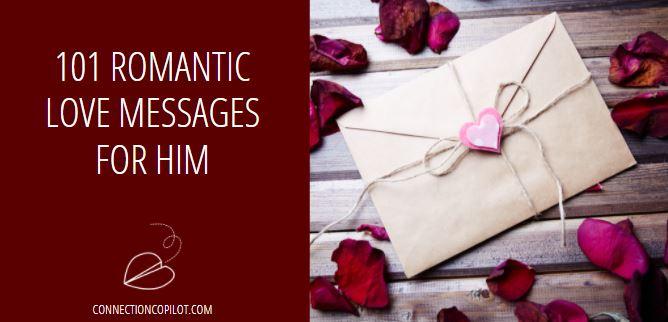 101 Romantic Love Messages for Him