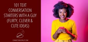 Text conversation starters with a guy